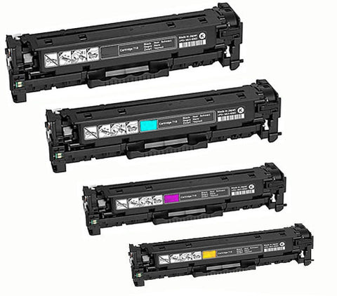 Canon CART418 BCMY Bundle Toner Cartridges Remanufactured