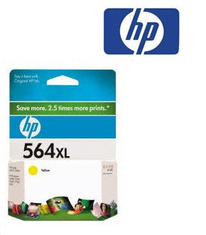 HP CB325WA (HP 564XL) Genuine Yellow High Yield Ink Cartridge