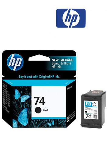 HP CB335WA (HP 74) Genuine Black Ink Cartridge
