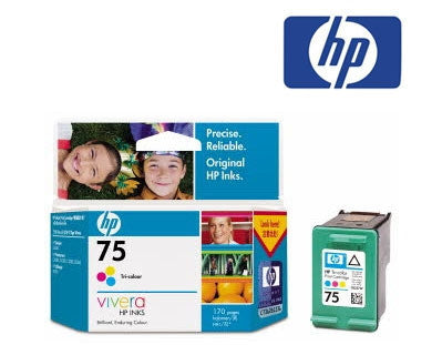 HP CB337WA (HP 75) Genuine Tricolour Ink Cartridge