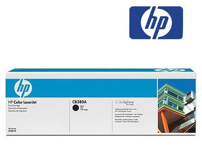 HP CB380A Genuine Black Toner Cartridge