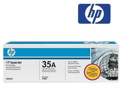HP CB435A, or  HP35A genuine printer cartridge for the  LaserJet P1005,  LaserJet P1006 printers by HP