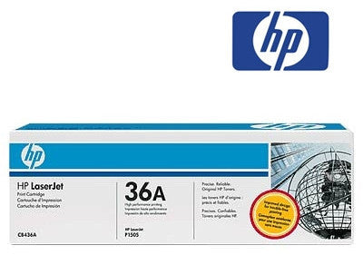 HP CB436A, HP 36A genuine Laser Toner Cartridge - 2000 page yield