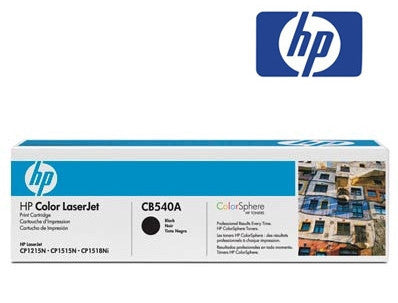HP CB540A genuine printer cartridge for LaserJet CP1215,  LaserJet CP1515,  LaserJet CP1518ni,  LaserJet CM1312,  LaserJet CP1210,  LaserJet CP1510 printers by HP