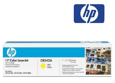 HP CB542A Genuine Yellow Toner Cartridge
