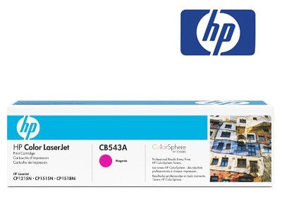 HP CB543A  Genuine Magenta Toner Cartridge