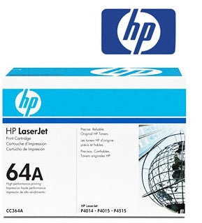 HP CC364A (HP 64A) Genuine Black Toner Cartridge