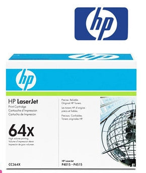 HP CC364X (HP 64X) Genuine High Yield Toner Cartridge