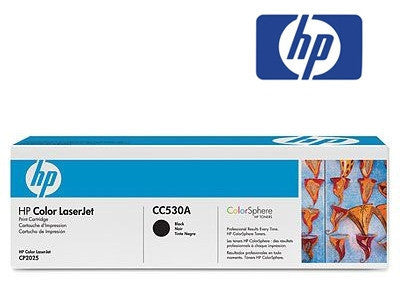 HP CC530A Genuine Black Toner Cartridge