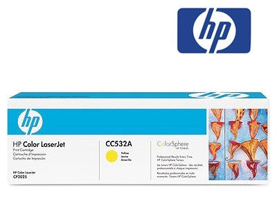 HP CC532A Genuine Yellow Toner Cartridge