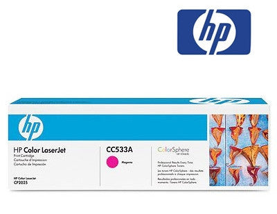 HP CC533A genuine printer cartridge for LaserJet CP2025,  LaserJet CM2320 printers by HP
