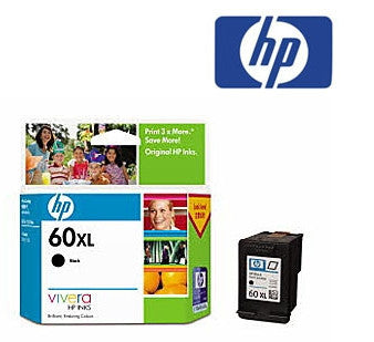 HP CC641WA, HP 60XL genuine  Inkjet Cartridge- 600 pages