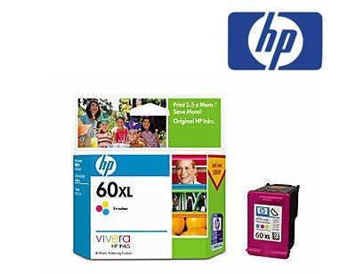 HP CC644WA (HP 60XL) Genuine High Yield Tricolour Ink Cartridge