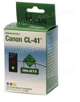 Canon CL41 TriColour Ink Cartridge Remanufactured