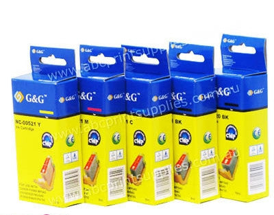 Canon PGI525BK, CLI526 B,C,M,Ycompatible printer cartridge