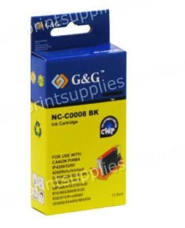 Canon CLI8BK photo black compatible printer cartridge