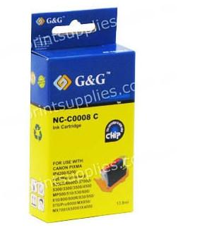 Canon CLI8C Cyan Ink Cartridge with Chip Compatible
