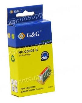 Canon CLI8G Green Ink Cartridge with Chip Compatible