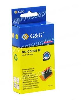 Canon CLI8M Magenta Ink Cartridge with Chip Compatible