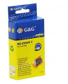 Canon CLI8Y Yellow Ink Cartridge with Chip Compatible