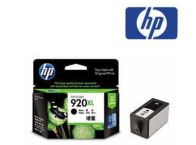 HP 920XL Black genuine High Yield Ink Cartridge