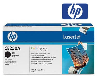 HP CE250A (HP50A) Genuine Black Toner Cartridge