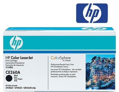 HP CE260A genuine printer cartridge