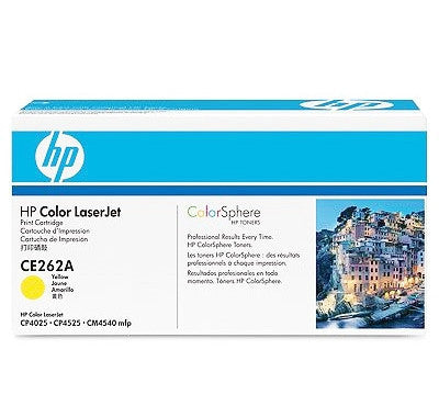 HP CE262A Genuine Yellow Toner Cartridge