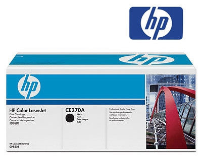 HP CE270A genuine printer cartridge
