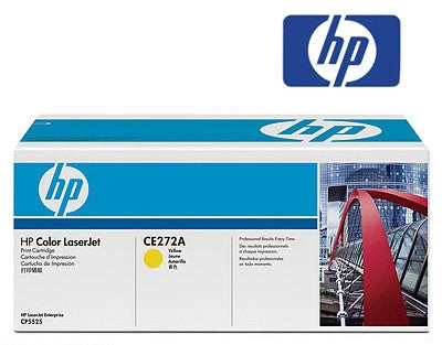 HP LaserJet CE272A Genuine Yellow Toner Cartridge