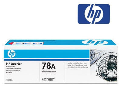HP CE278A, HP 78A genuine Toner Cartridge - 2100 page yield