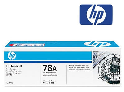 HP CE278A  (HP 78A) genuine Toner Cartridge - 2100 page yield