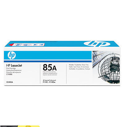 HP85A genuine toner printer cartridge