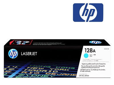 HP CE321A (128A) Genuine Cyan Toner Cartridge