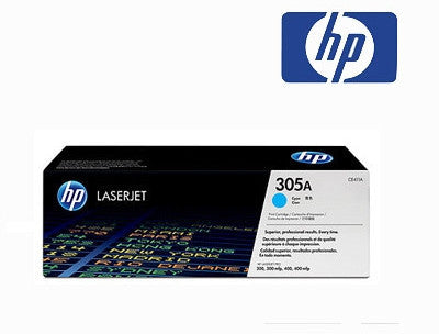 HP CE411A (HP 305A) Genuine Cyan Toner Cartridge