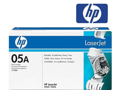 HP CE505A (HP 05A) Genuine Toner Cartridge