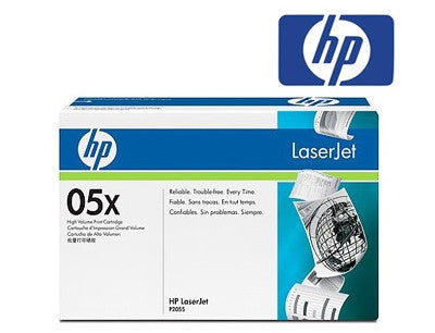 HP CE505X (HP 05X) Genuine High Yield Toner Cartridge