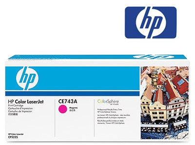 HP CE743A Genuine Magenta Toner Cartridge