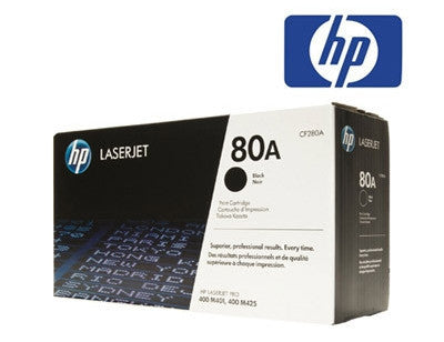 HP CF280A (HP 80A) Genuine LaserJet Cartridge
