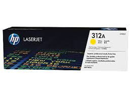HP CF382A Yellow Toner Genuine Cartridge