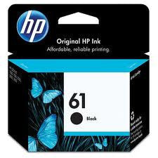 HP Deskjet 1000 (HP 61) Genuine Black Ink Cartridge