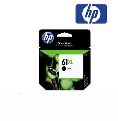 HP Deskjet 3050 (HP 61) Genuine Black XL Ink Cartridge 480 page yield