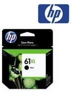 HP Deskjet 1050 (HP 61) Genuine Black XL Ink Cartridge - 480 page yield