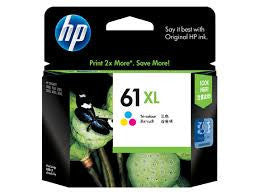 HP Deskjet 1050 (HP 61) Genuine Colour XL Ink Cartridge
