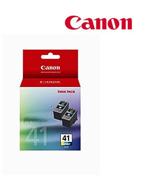 Canon CL41TWIN genuine printer cartridges