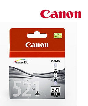 Canon CLI-521BKgenuine printer cartridge
