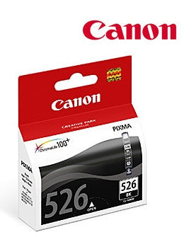 Canon CLI526BK genuine printer cartridge