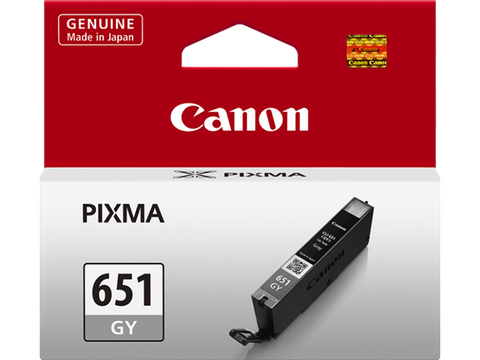 Canon CLI-651GY Genuine Grey  Ink Cartridge
