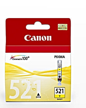 Canon CLI-521Y genuine printer cartridge