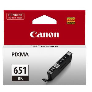 Canon CLI-651BK Genuine Black Ink Cartridge